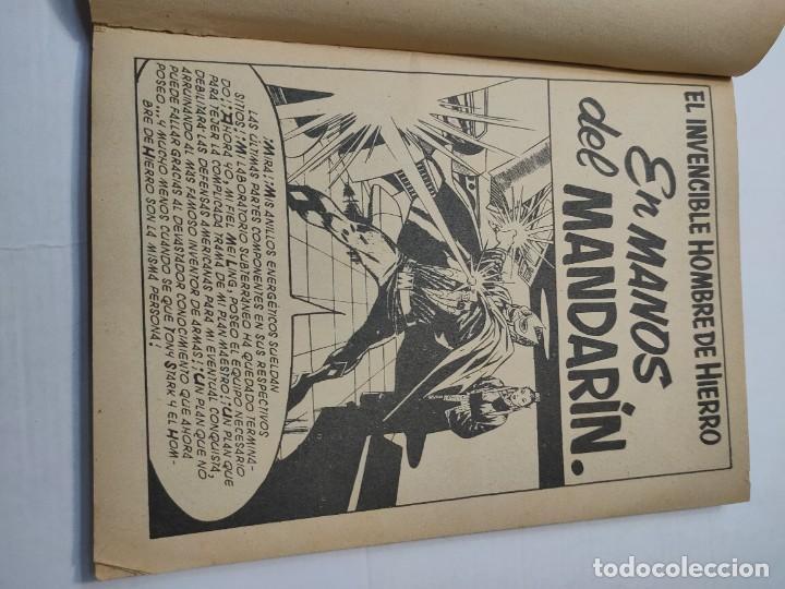 Cómics: Comic -EL HOMBRE DE HIERRO- En Manos del Mandarin número 4 de 1969 Vertice - Foto 4 - 288386288