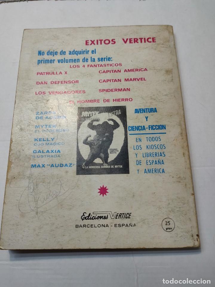 Cómics: Comic -EL HOMBRE DE HIERRO- En Manos del Mandarin número 4 de 1969 Vertice - Foto 6 - 288386288