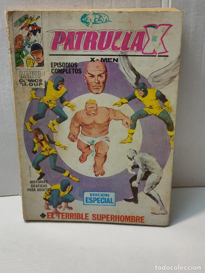 COMIC -PATRULLA X- EL TERRIBLE SUPERHOMBRE NÚMERO 3 DE 1969 VERTICE (Tebeos y Comics - Vértice - Patrulla X)
