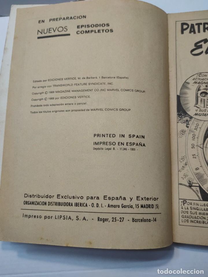 Cómics: Comic -PATRULLA X- El Terrible Superhombre número 3 de 1969 Vertice - Foto 3 - 288386933