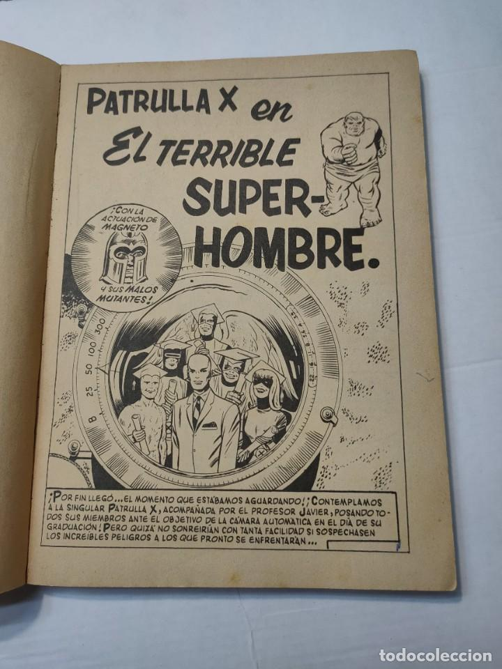 Cómics: Comic -PATRULLA X- El Terrible Superhombre número 3 de 1969 Vertice - Foto 4 - 288386933