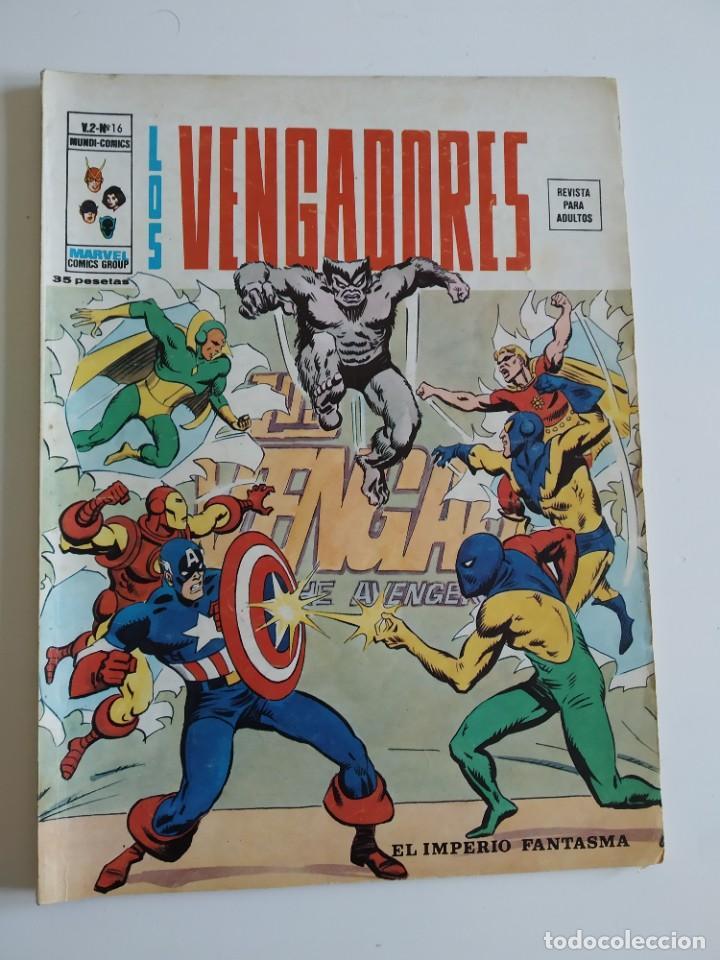 VERTICE ~ LOS VENGADORES ~ VOL.2 Nº16 (Tebeos y Comics - Vértice - Vengadores)