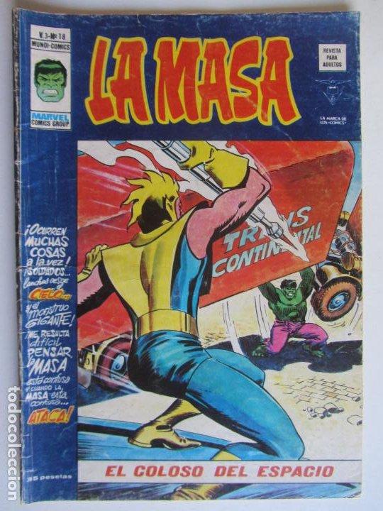 LA MASA VOL. 3 - Nº 18 1976 VERTICE - MUNDI-COMICS C9X3 LV (Tebeos y Comics - Vértice - La Masa)