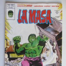 Cómics: LA MASA VOL. 3 - Nº 39 1973 VERTICE - MUNDI-COMICS PRIMERA APARICION LOBEZNO BUEN ESTADO C9X3 LV. Lote 289019878