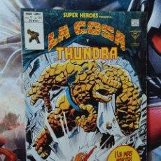 Cómics: MUY BUEN ESTADO SUPER HEROES 121 VOL II LA COSA Y THUNDRA COMICS EDICIONES VERTICE. Lote 289248533