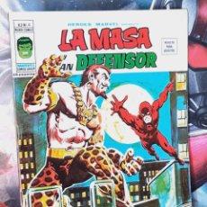 Cómics: EXCELENTE ESTADO HÉROES MARVEL 4 VOL II LA MASA Y DAN DEFENSOR COMICS EDICIONES VERTICE. Lote 289255918