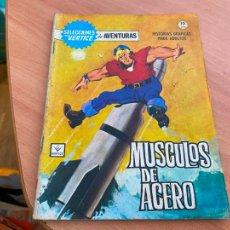 Cómics: SELECCIONES VERTICE DE AVENTURAS Nº 4 MUSCULOS DE ACERO (ORIGINAL VERTICE) (COIB207). Lote 289315363