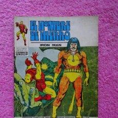 Cómics: EL HOMBRE DE HIERRO 27 EDICIONES VERTICE 1973 RAGA EL HIJO DEL FUEGO. Lote 289326538
