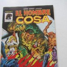 Cómics: SUPER HEROES Nº 4 LINEA 81 - EL HOMBRE COSA MUNDI COMICS VERTICE BUEN ESTADO E10X4 LV. Lote 289362448