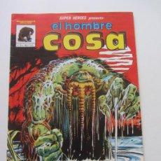 Cómics: SUPER HEROES Nº 3 LINEA 81 - EL HOMBRE COSA MUNDI COMICS VERTICE BUEN ESTADO E10X4 LV. Lote 289362523