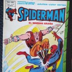 Cómics: VÉRTICE SPIDERMAN VOL3 Nº62-SPANISH EDITION-MUY BUEN ESTADO-LOPEZ ESPÍ COVER-BAGED. Lote 289423963