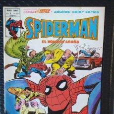 Cómics: VÉRTICE SPIDERMAN VOL3 Nº63 A-SPANISH EDITION-MUY BUEN ESTADO-LOPEZ ESPÍ COVER-BAGED. Lote 289424283