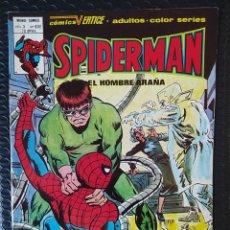 Cómics: VÉRTICE SPIDERMAN VOL3 Nº63 E-SPANISH EDITION-MUY BUEN ESTADO-LOPEZ ESPÍ COVER-BAGED. Lote 289425088
