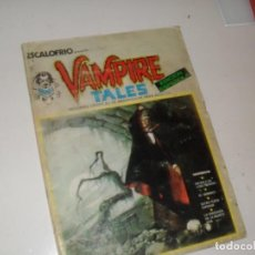 Cómics: VAMPIRE TALES 1(ESCALOFRIO 1)EDICIONES VERTICE,AÑO 1973.. Lote 289482483