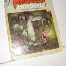 Cómics: MONSTERS UNLEASHED 2(ESCALOFRIO 6)EDICIONES VERTICE,AÑO 1973.. Lote 289482723