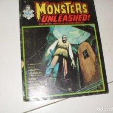Cómics: MONSTERS UNLEASHED 4(ESCALOFRIO 12)EDICIONES VERTICE,AÑO 1973.. Lote 289483083