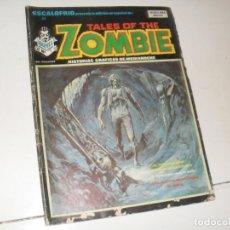 Cómics: TALES OF THE ZOMBIE 7(ESCALOFRIO 23)EDICIONES VERTICE,AÑO 1973.. Lote 289483288