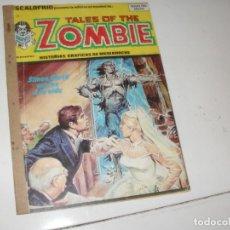 Cómics: TALES OF THE ZOMBIE 9(ESCALOFRIO 29)EDICIONES VERTICE,AÑO 1973.. Lote 289483558
