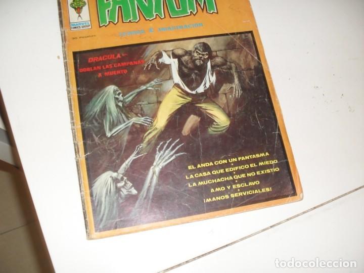 FANTOM VOL 2,Nº 7.EDICIONES VERTICE,AÑO 1973. (Tebeos y Comics - Vértice - Terror)