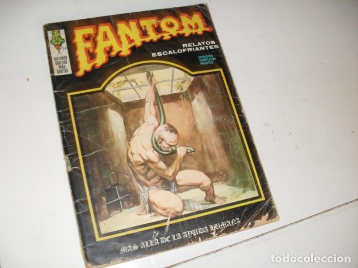 FANTOM VOL 1,Nº 16.EDICIONES VERTICE,AÑO 1973. (Tebeos y Comics - Vértice - Terror)
