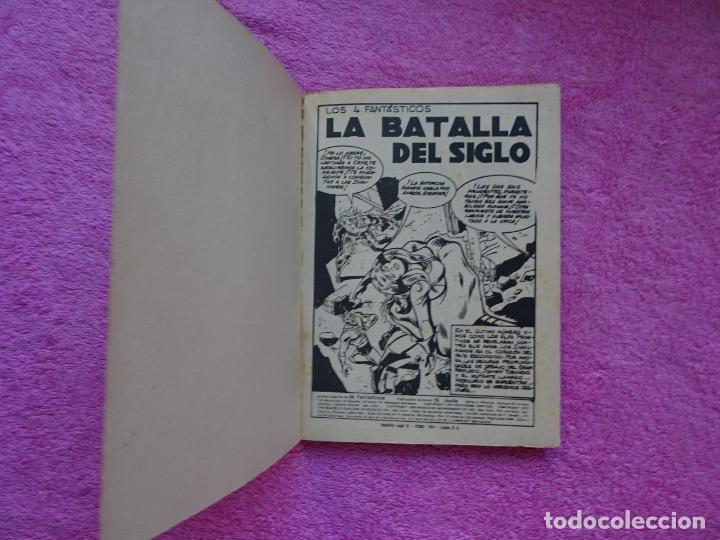 Cómics: los 4 fantásticos 66 ediciones vertice 1974 la batalla del siglo - Foto 2 - 289542503