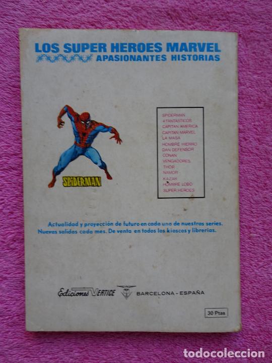 Cómics: los 4 fantásticos 66 ediciones vertice 1974 la batalla del siglo - Foto 11 - 289542503