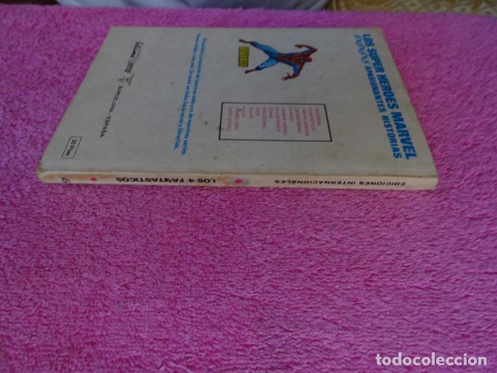 Cómics: los 4 fantásticos 66 ediciones vertice 1974 la batalla del siglo - Foto 12 - 289542503