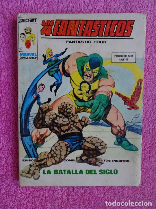 LOS 4 FANTÁSTICOS 66 EDICIONES VERTICE 1974 LA BATALLA DEL SIGLO (Tebeos y Comics - Vértice - 4 Fantásticos)