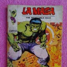 Cómics: LA MASA 25 EDICIONES VERTICE 1972 QUIÉN TE JUZGARA MASA. Lote 289543138
