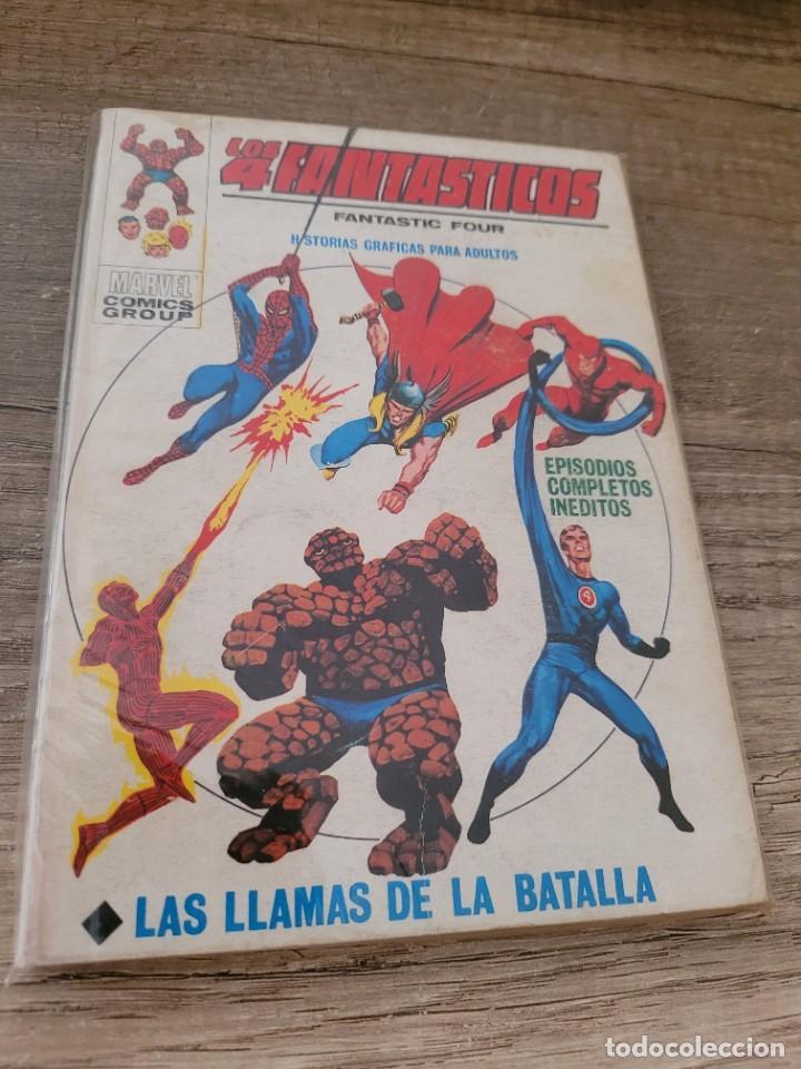 COMIC VERTICE LOS 4 FANTASTICOS VOLUMEN 1 NUMERO 35. (Tebeos y Comics - Vértice - 4 Fantásticos)