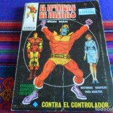 Cómics: VÉRTICE VOL. 1 EL HOMBRE DE HIERRO Nº 5 CONTRA EL CONTROLADOR. 1970. 25 PTS.. Lote 289609438