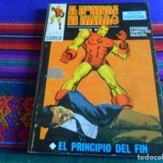 Cómics: VÉRTICE VOL. 1 EL HOMBRE DE HIERRO Nº 7 EL PRINCIPIO DEL FIN. 25 PTS. 1970. BUEN ESTADO.. Lote 289609723