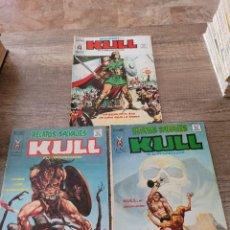 Cómics: LOTE VERTICE 3 COMICS KULL EL CONQUISTADOR.. Lote 289610468