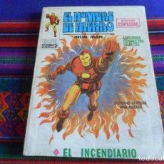 Cómics: VÉRTICE VOL. 1 EL HOMBRE DE HIERRO Nº 11 EL INCENDIARIO. 1970. 25 PTS. BUEN ESTADO.. Lote 289610778