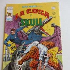 Cómics: SUPER HEROES VERTICE VOL. 2 Nº 100 LA COSA Y SKULL 1978 MUNDICOMICS. VÉRTICE BUEN ESTADO E5X1 LV. Lote 289656948
