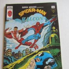 Cómics: SUPER HEROES VERTICE VOL. 2 Nº 98 SPIDERMAN Y EL HALCON MUNDICOMICS. VÉRTICE BUEN ESTADO E5X1 LV. Lote 289657078
