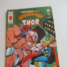Cómics: SUPER HEROES VERTICE VOL. 2 Nº 97 SPIDERMAN Y THOR - 1979 MUNDICOMICS. VÉRTICE BUEN ESTADO E5X1 LV. Lote 289657138