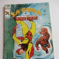Cómics: SUPER HEROES VERTICE VOL 2 Nº 94 LA COSA Y SPIDER-WOMAN MUNDICOMICS VÉRTICE E5X1 LV. Lote 289657258