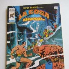 Cómics: SUPER HEROES VERTICE VOL 2 Nº 93 LA COSA Y NAMOR MUNDICOMICS VÉRTICE BUEN ESTADO E5X1 LV. Lote 289657293