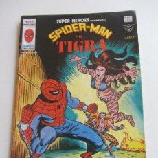 Cómics: SUPER HEROES VERTICE VOL 2 Nº 92 SPIDERMAN Y LA TIGRA - 1978 MUNDICOMICS VÉRTICE BUEN ESTADO E5X1 LV. Lote 289657508