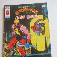 Cómics: SUPER HEROES VERTICE VOL 2 Nº 91. SPIDERMAN CAPITAN BRITANIA MUNDICOMICS VÉRTICE BUEN ESTADO E5X1 LV. Lote 289657558