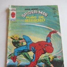 Cómics: SUPER HEROES VERTICE VOL 2 Nº 90 SPIDERMAN Y PUÑO DE HIERRO MUNDICOMICS VÉRTICE ETX LV. Lote 289657763