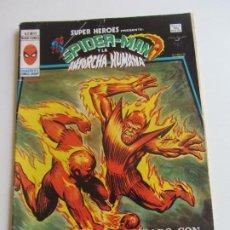 Cómics: SUPER HEROES VERTICE VOL 2 Nº 89 SPIDERMAN Y LA ANTORCHA HUMANA MUNDICOMICS VÉRTICE ETX LV. Lote 289657908