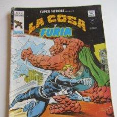 Cómics: SUPER HEROES VERTICE VOL 2 Nº 87 LA COSA Y FURIA MUNDICOMICS VÉRTICE ETX LV. Lote 289658168