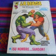 Cómics: VÉRTICE VOL. 1 LA MASA Nº 19 SU NOMBRE.... SANSÓN. 1972. 25 PTS. BUEN ESTADO Y DIFÍCIL.. Lote 289663078