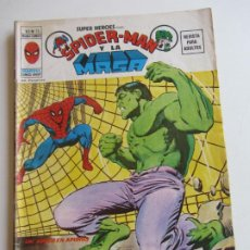 Cómics: SUPER HÉROES VOL.2 Nº 13 SPIDERMAN Y LA MASA 1975 MUNDICOMICS VÉRTICE BUEN ESTADO ETX LV. Lote 289703333