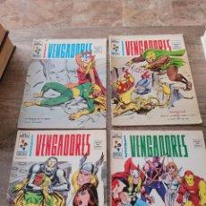 Cómics: LOTE 4 COMICS VERTICE VOLUMEN 2 LOS VENGADORES NUMEROS 1-2-12-13. Lote 289717023