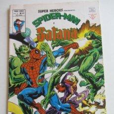 Cómics: SUPER HEROES V.2 Nº 108 SPIDER-MAN Y Y SATANA 1979 BUEN ESTADO MUNDICOMICS VÉRTICE ETX LV. Lote 289721123