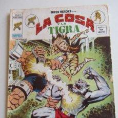 Cómics: SUPER HEROES VOL. V. 2 Nº 59 LA COSA Y LA TIGRA MUNDICOMICS VÉRTICE ETX LV. Lote 289722483