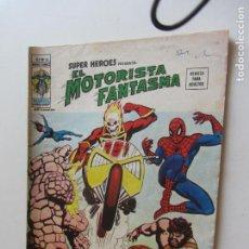 Cómics: SUPER HÉROES VOL. 2 Nº 53 EL MOTORISTA FANTASMA MUNDICOMICS VÉRTICE ETX LV. Lote 289725758